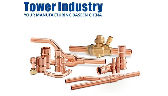 China Customize Copper Manifold Assembly Parts