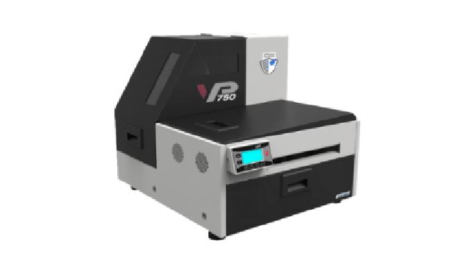 Der Farbetikettendrucker mit der unglaublichen Druckgeschwindigkeit von 18m/minDigitaldruck On-deman...