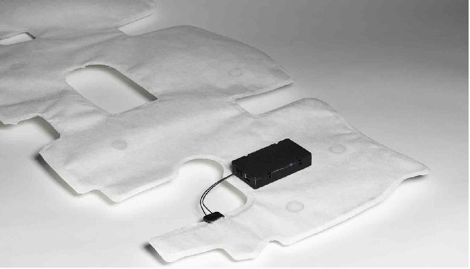 The non-touch detection system is a non-touch anti-pinch system on doors and power liftgates and sea...