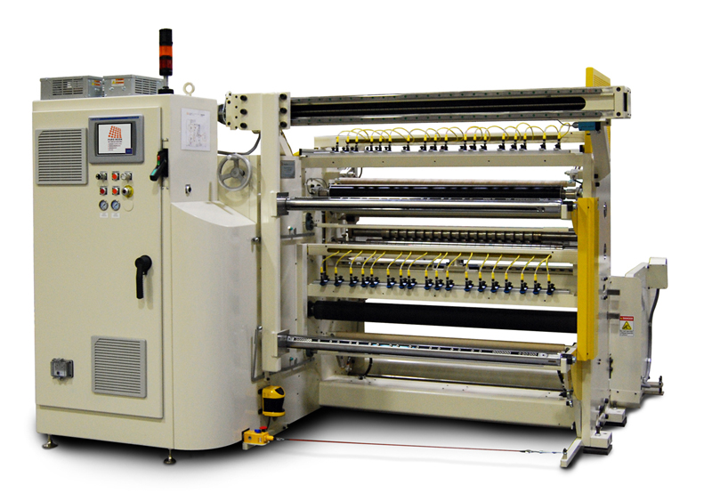 Efficiently and safely convert master rolls into smaller finished rolls to meet your specific requir...