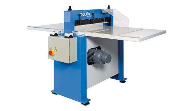 Sample cutting and pinking machine type ZM