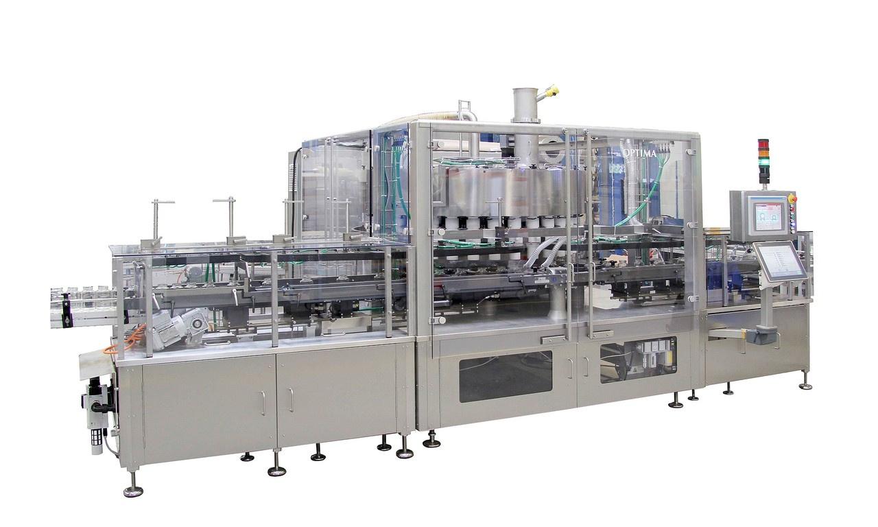 Eigenschaften:Abfüllung mit Brutto Wägesystem Leistung bis zu 250 Behältnisse/min. Abfüllung in Blec...