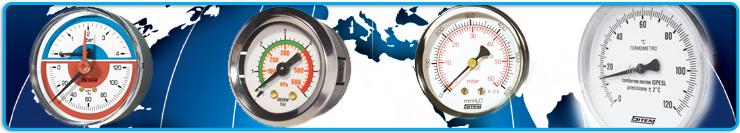 Manometre, Termomanometre, Termostate