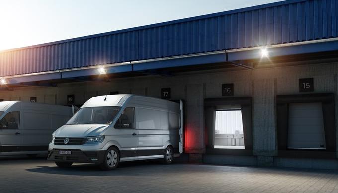 Kissentorabdichtungen für Transporter sind speziell für den Einsatz in Paketverteilzentren entwickel...