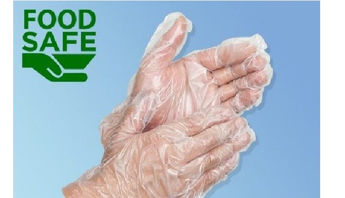 Disposable Plastic Gloves for Food Handling Meets US Federal regulations for food contact (FDA Appro...
