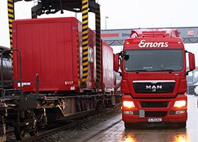 Železniční či vlaková přeprava Emons Rail Cargo