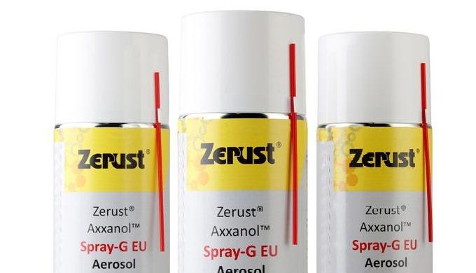 Zerust Axxanol ™ anticorrosiespray (Spray-G) biedt superieure corrosiebescherming in een handige spu...