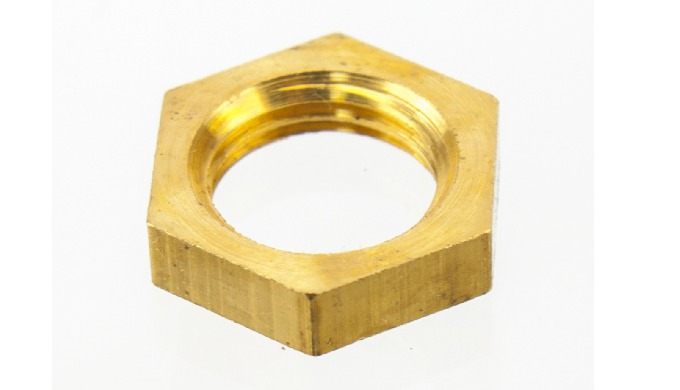 Brass Hex Nut with all sizes and standards