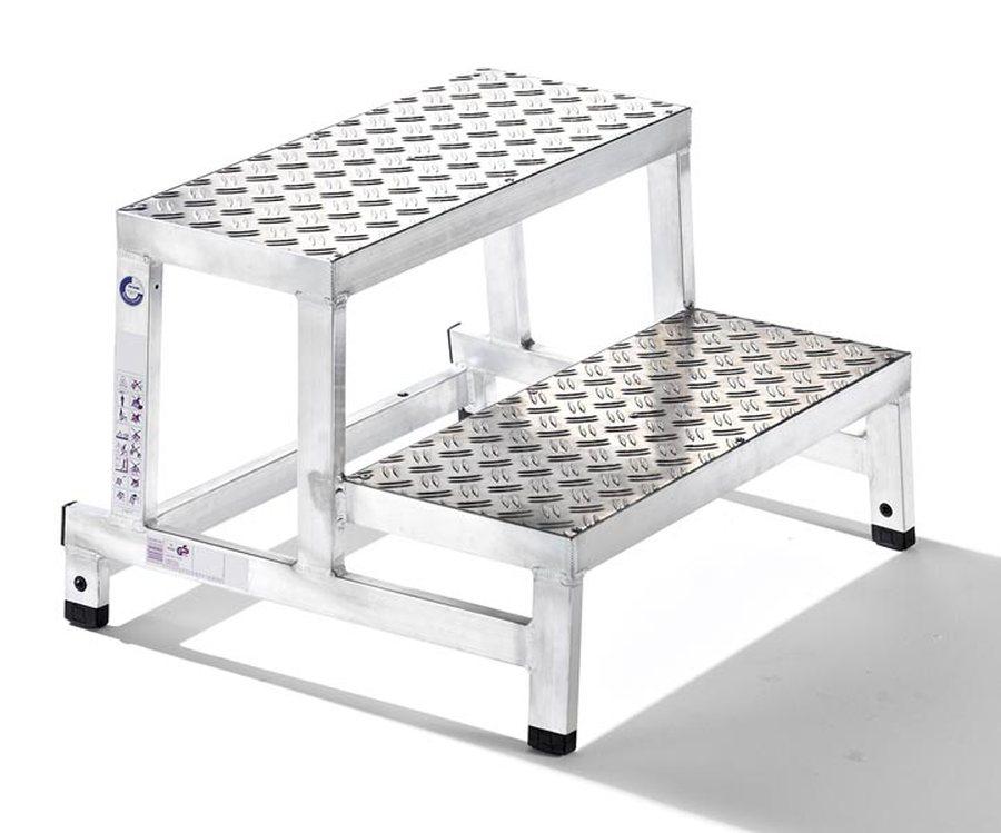Grundmodul, 2-stufig Besonders robuste Aluminiumkonstruktion aus geschweißten Rechteckrohrholmen Kom...