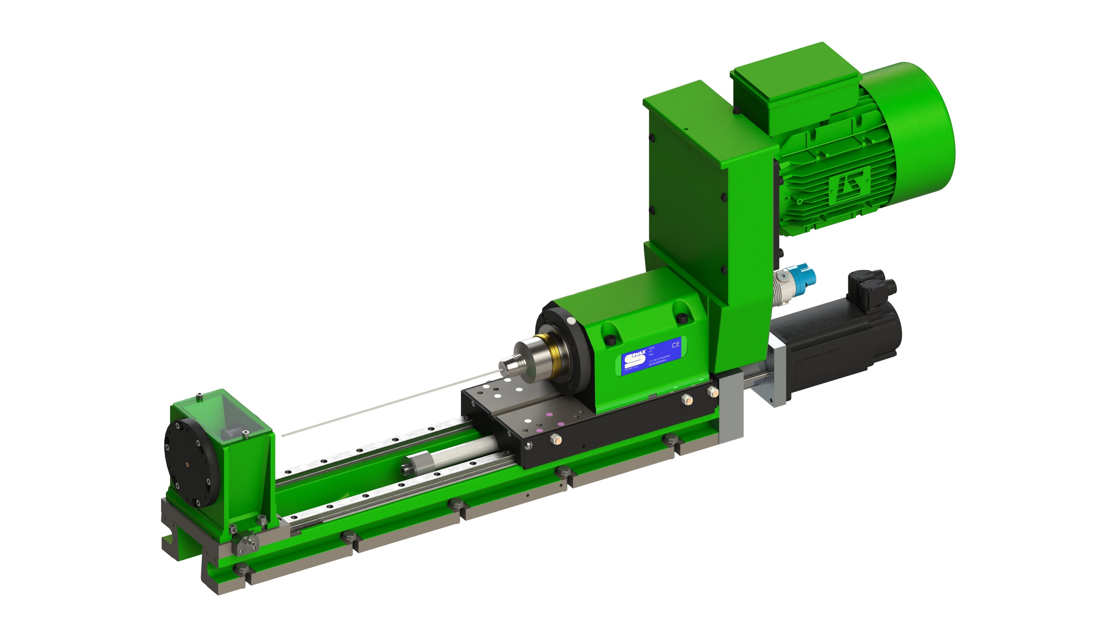 Unité de perçage profond Capacité de Ø3 à Ø5 mm dans acier 600N/mm² Profondeur de perçage ≤ 40xD, 20...