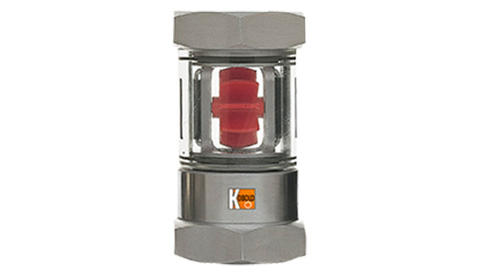 Anzeigebereich: 0,4 - 4 ... 8 - 100 l/min Wasser Anschluss: G ¼ ... G 1½ IG, ¼ ... 1½