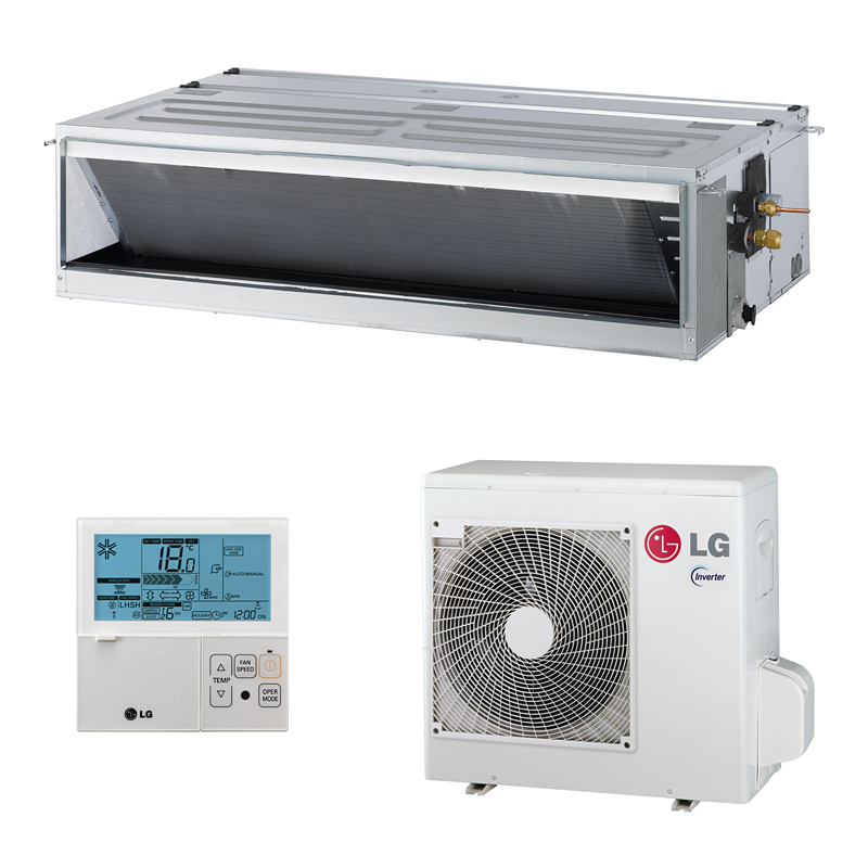 Kühlt - Heizt - Entfeuchtet - LüftetVorteile: Kühlen und Heizen Entlüftung und Entfeuchtung Infrarot...
