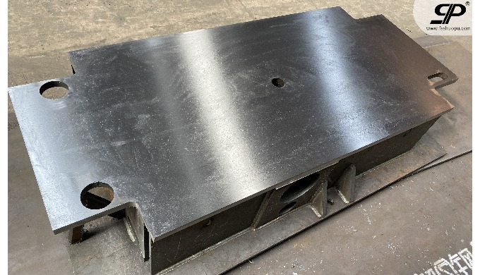 OEM heavy steel base for die spotting machine 1. steel plate: thickness is not limited -- no matter ...