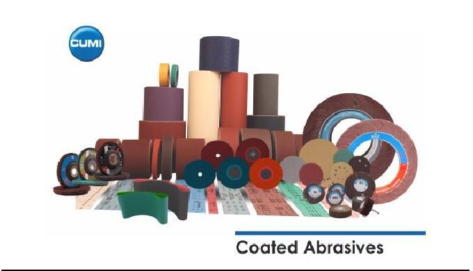 Complete range of Coated Abrasives