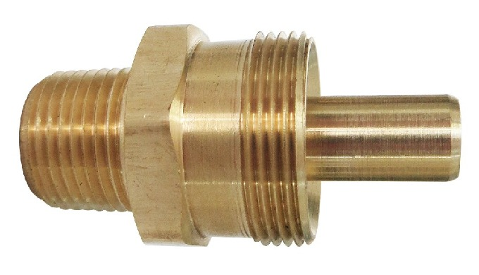 Brass Air Brake Hose Connector Body