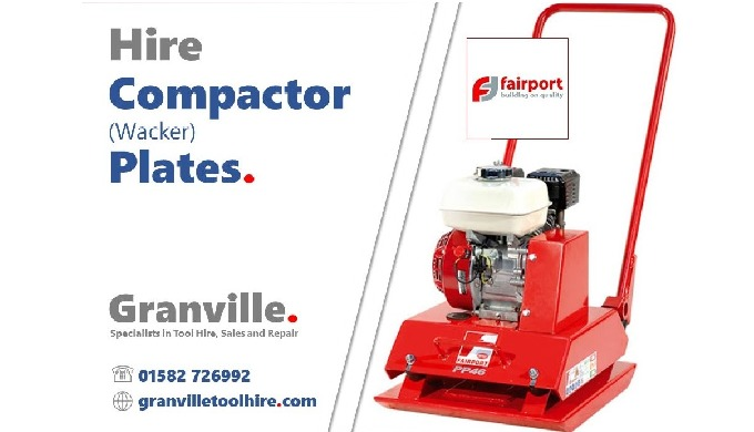 At Granville we provide help and advice on Compactor Plate (Wacker Plate) hire. We have a wide range...