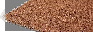 Kokosmatta med vertikalt stående fibrer av högsta kvalité. En matta som bevisat har en bra avtorknin...