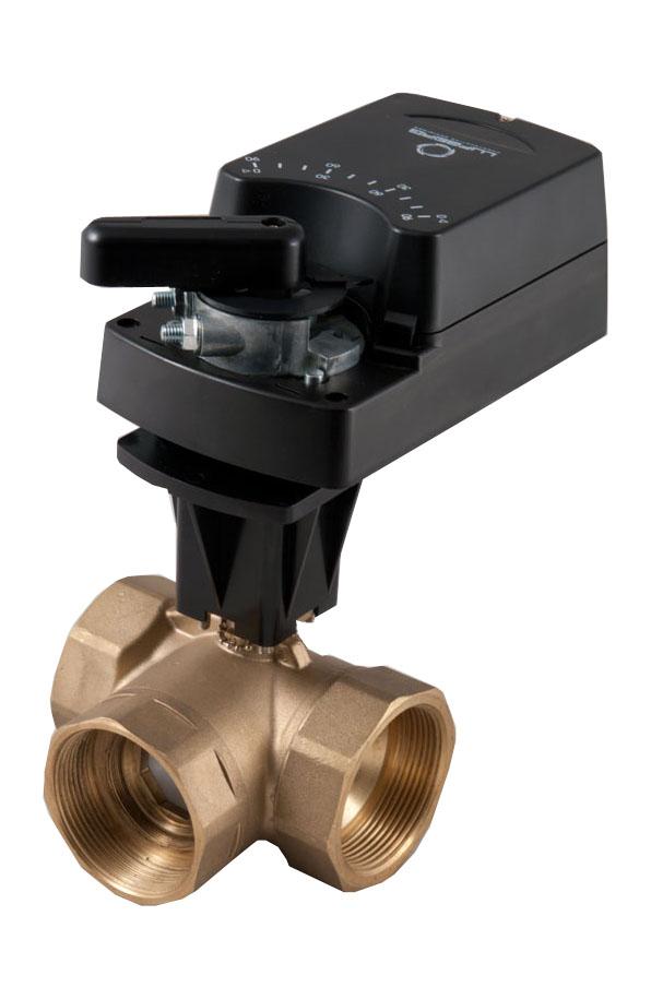 Regulační kulové ventily serie BV jsou určeny pro regulaci toku horkeé či studené vody, a pro někter...