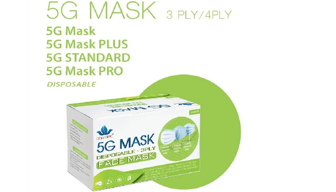 5G MASK - Disposable face masks; Medical face masks with earloop