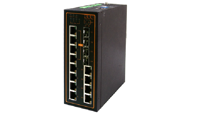 EH7512 Series / Industrial Ethernet Switch / Industrial PoE Switch