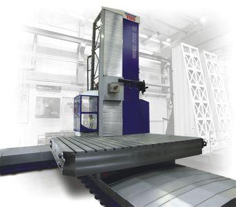 Vyvrtávačka desková WRD 170 (Q) největší představitel řady deskových vyvrtávaček z produkce TOS VARN...
