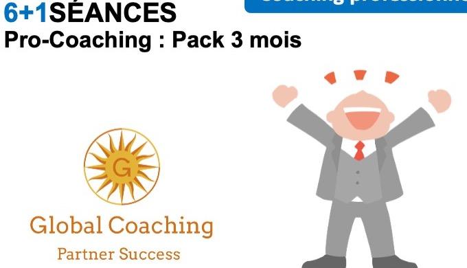 Pro-Coaching : Pack 3 mois Un Pack de 6 séances + 1 séance offerte à utiliser dans un délai de 3 moi...
