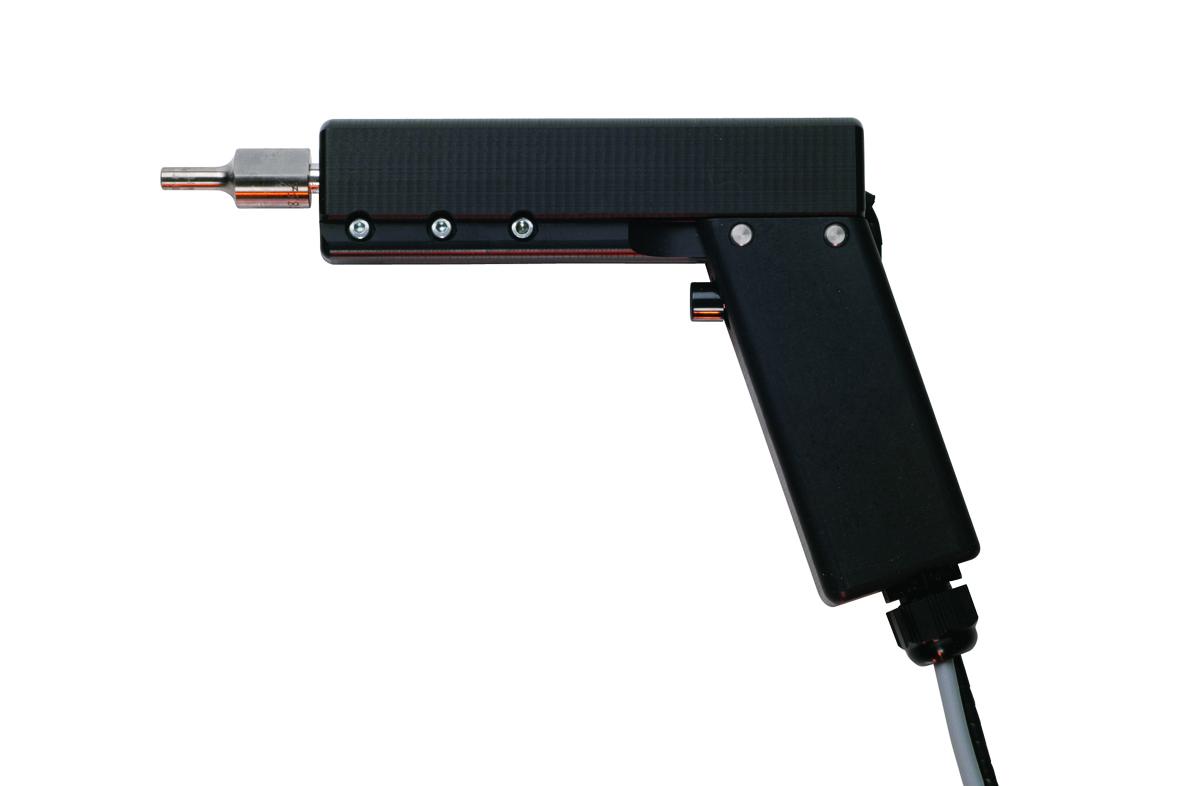Die Ultraschall-Handschweisspistole HG70 eignet sich für manuelle Schweiss- und Schneidoperationen w...