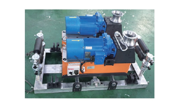 4) EHV/XLPE CABLE WORKS AND EQUIPMENT (YL-U1000) | Underground Power Line Installation Machine