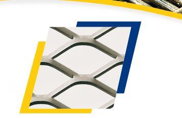 Le métal déployé CLISSON METAL est un treillis d'une seule pièce fabriquée par découpage et étirage ...