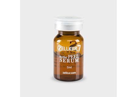 (3) Zellkur herbal peel serum 5ml (scrub, essence, ampoule) ㅣ Herbal  serum gel