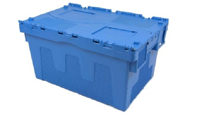 Cutie din plastic cu capac