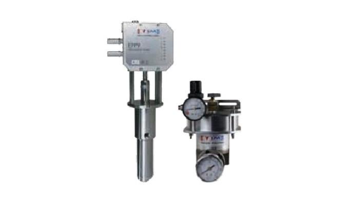 Las bombas para adhesivo de Valco Melton juntos con los reguladores de presión proporcionan un sumin...