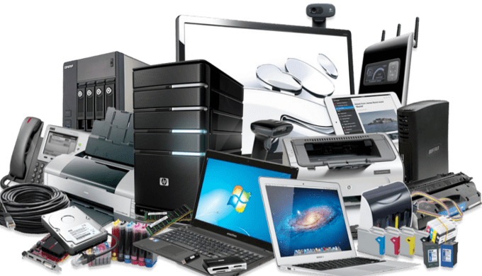 Vente de matériels informatique