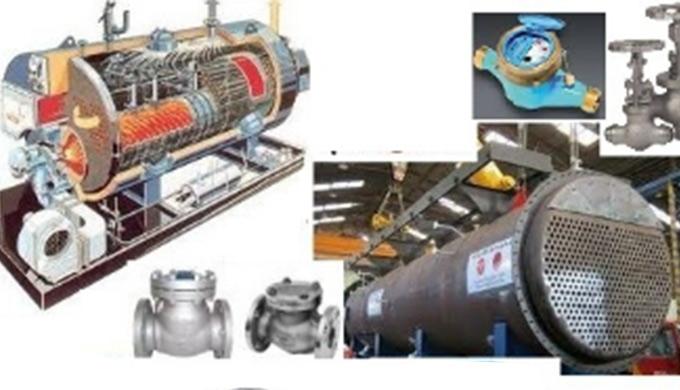 Chaudière vapeur tout combustible : fuel , gaz , gasoil, mixte