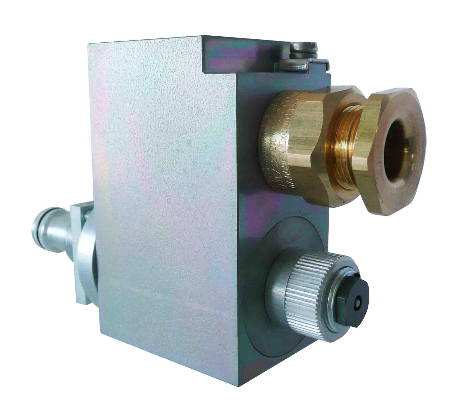 Proporcionální pojistný ventil do výbušného prostředí Technická data pojistného ventilu BDBPM22 s ne...