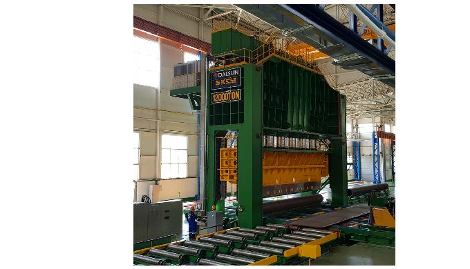 12,000Ton JCO Pipe Forming Press