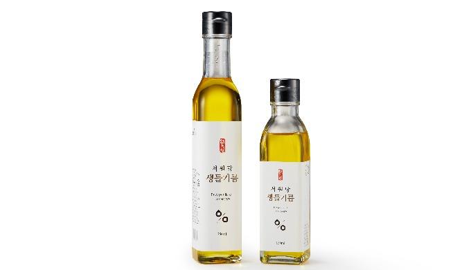 النفط الخام بريلا يتكون زيت بريلا الخام Seowondang الذي يستخدم فقط بواسطة أفضل بذور بريلا الخام التي...