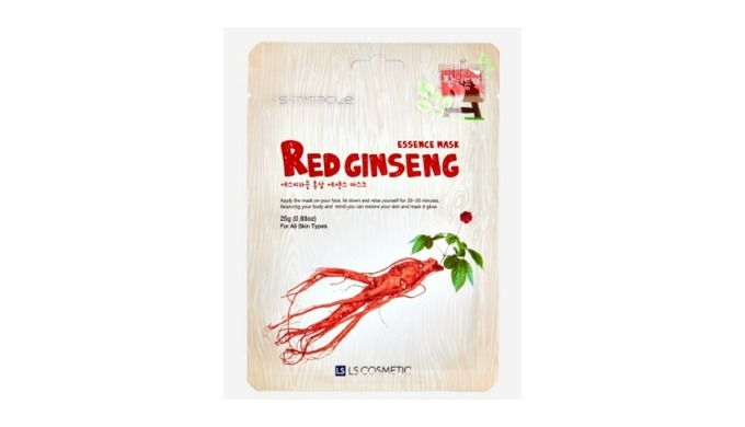 S+MIRACLE Red ginseng essence mask