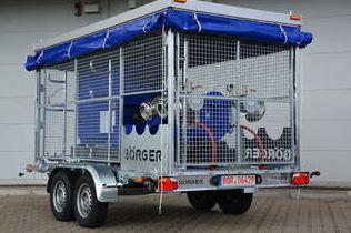 Les pompes mobiles Börger sont utilisées dans les plus diverses applications. Domaines d'utilisation...