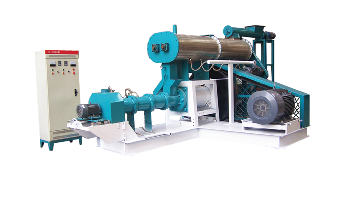 Floating fish feed production line is used to produce different kinds of floating fish feed ,and sin...