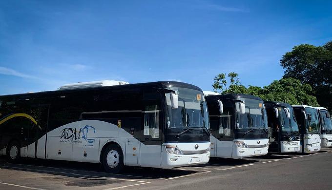 Les Autocars des mascareignes loue des bus, cars,autocars, navettes et minibus avec chauffeurs pour ...