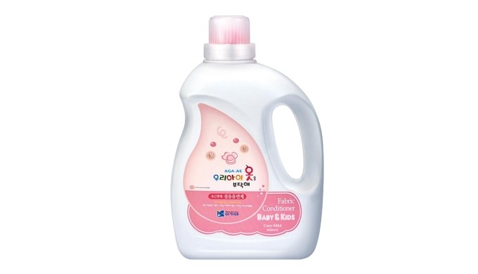 Take Care of My Kid's Clothes Fabric Conditioner Bottle