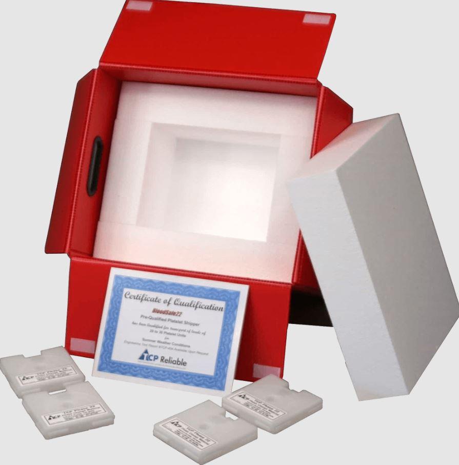 Emballage BloodSafe 22 de Cryopak