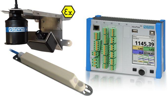 Mesure de débit avec capteur de surface Radar