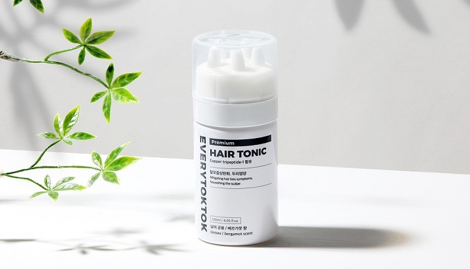 EVERYTOTOK hair tonic is functional cosmetic.The ingredients are specialized for hair loss care and ...