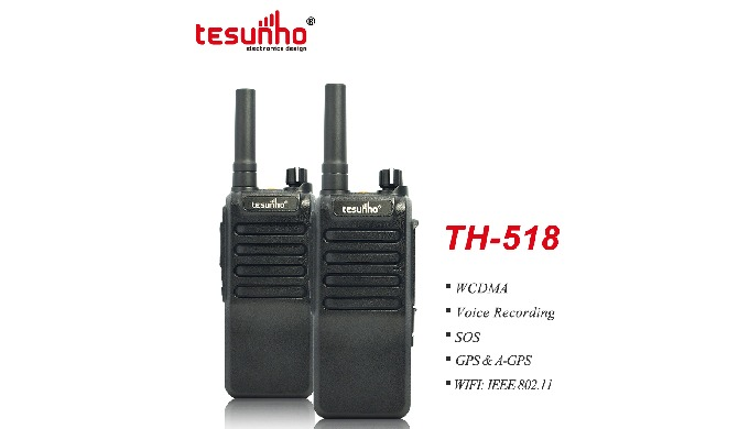 TH-518 is a robust walky talky with standard American English prompt. Wifi function allows you enjoy...