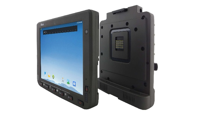 10.4-inch Vehicle Mounted Computer, FM10Q A Rugged Vehicle Mounted Computer for Data Collection in W...