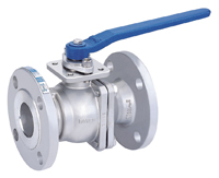 2-PC Flanged End Ball Valve, Full Bore, ANSI#150