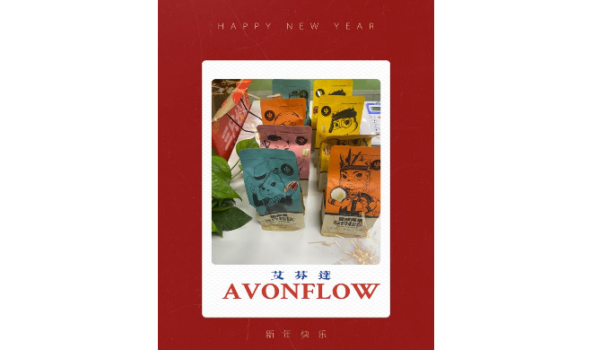 Celebrating the upcoming CNY holiday with AVONFLOW