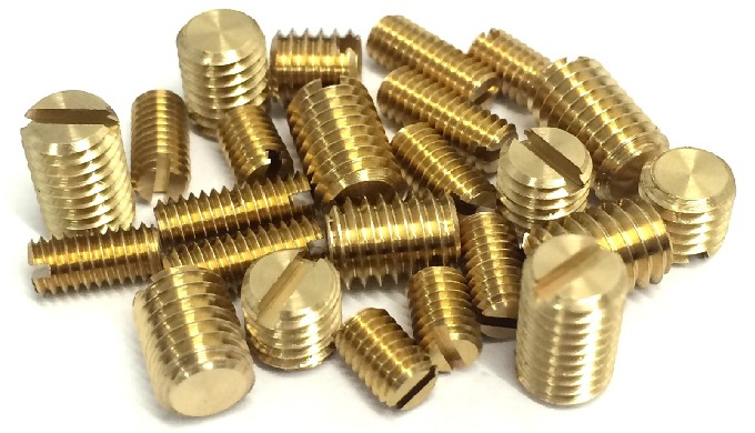 Brass Socket Grub Screw